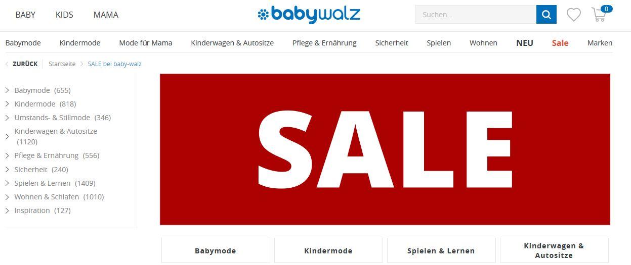 Babywalz sale