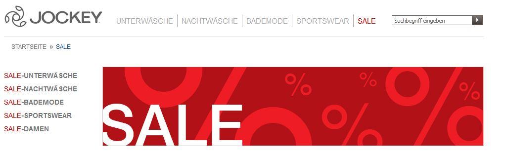 Jockey sale
