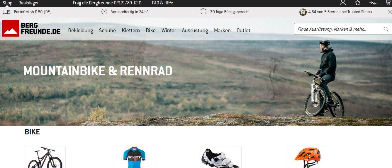 bergfreunde bike