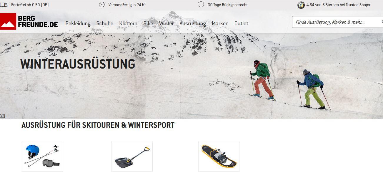 bergfreunde winter