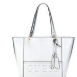 Silberne Handtaschen