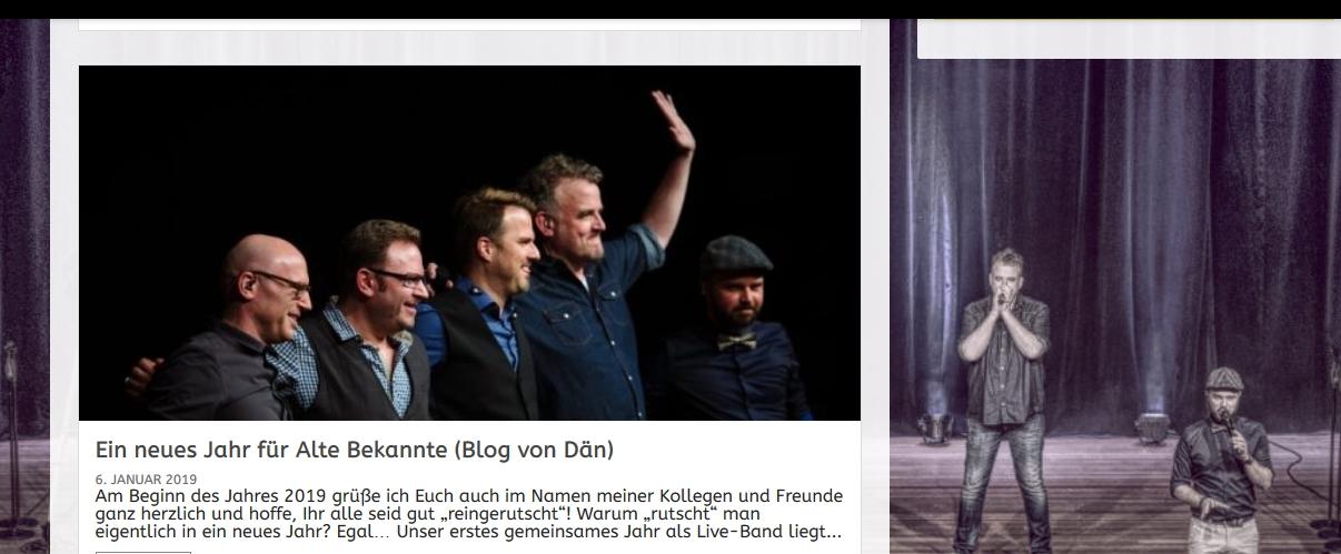 Alte Bekannte - a cappella Band aus Deutschland, Nachfolgeband der Wise Guys