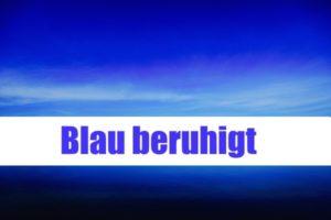 blau Farbwirkung