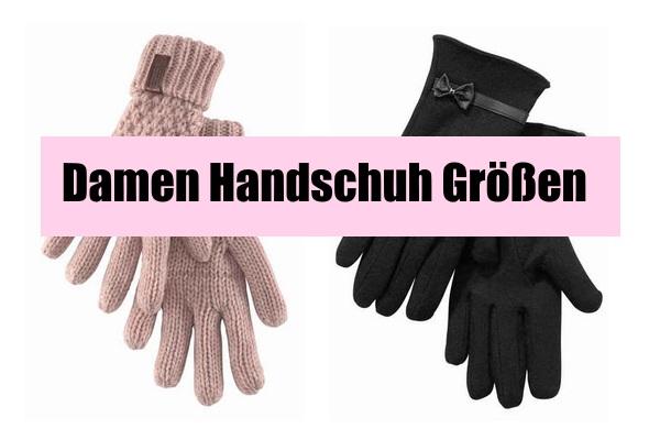 damen handschuh grössen