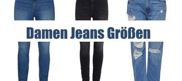 damen jeans größen ratgeber