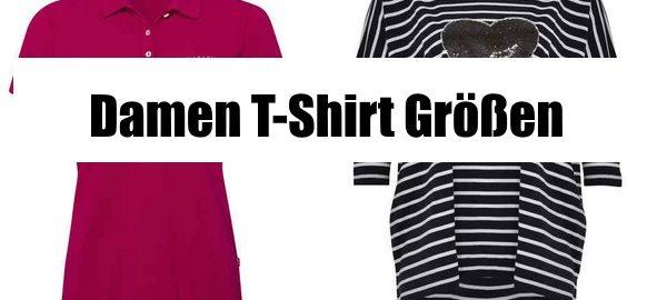 damen t-shirt grössen ratgeber