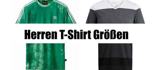 915d265f3121 Herren T-Shirt Grössen   Größen