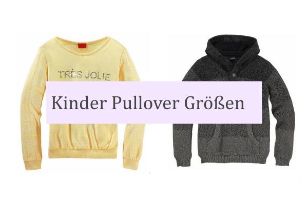 best service b2a4e 0c8a3 Kinder Pullover Grössen | Grössen Ratgeber