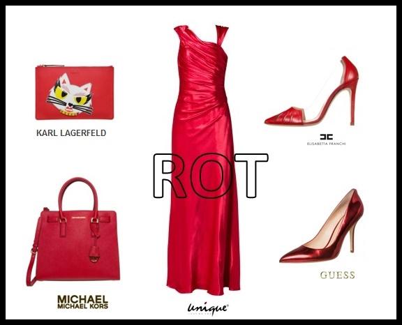 rote kleider fashion mode