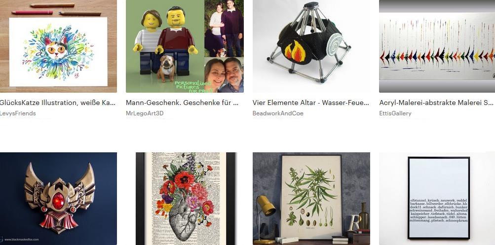 etsy kunst und sammlerstücke