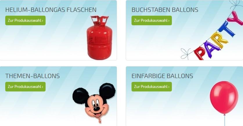 themen luftballons