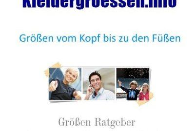 Größen by Kleidergroessen.info