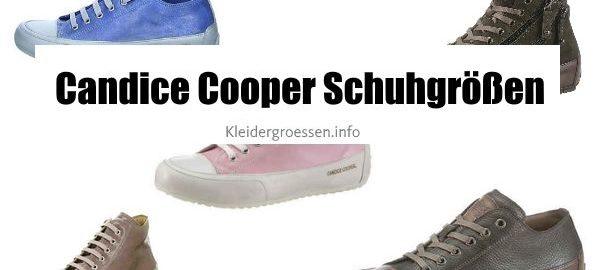 candice cooper schuhgrößen