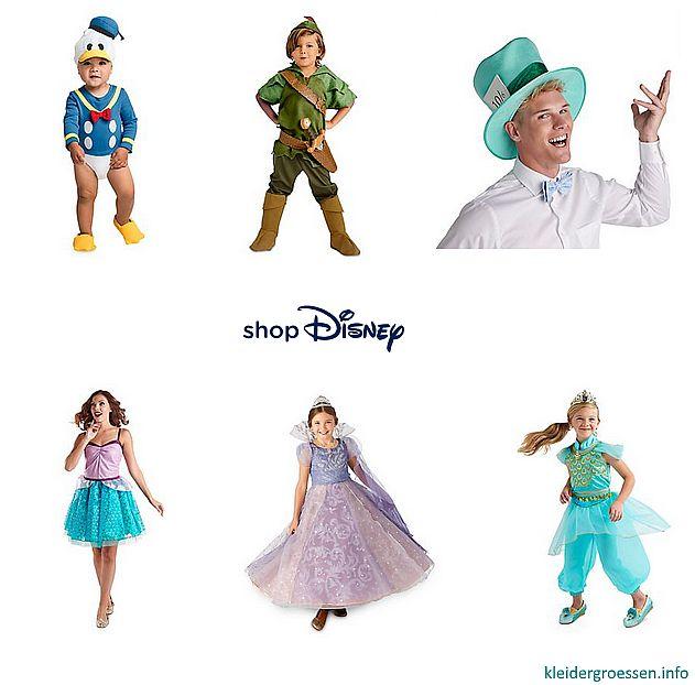 Disney karneval fasching kostueme