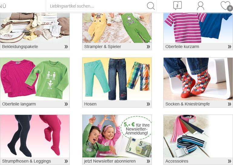 Homewear für Kinder im Erwin Müller Online-Shop