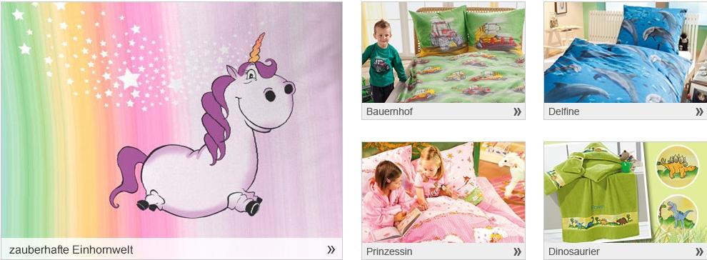 Specials für Kinder im Erwin Müller Online-Shop