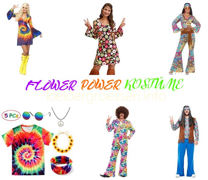 flower power kostüme