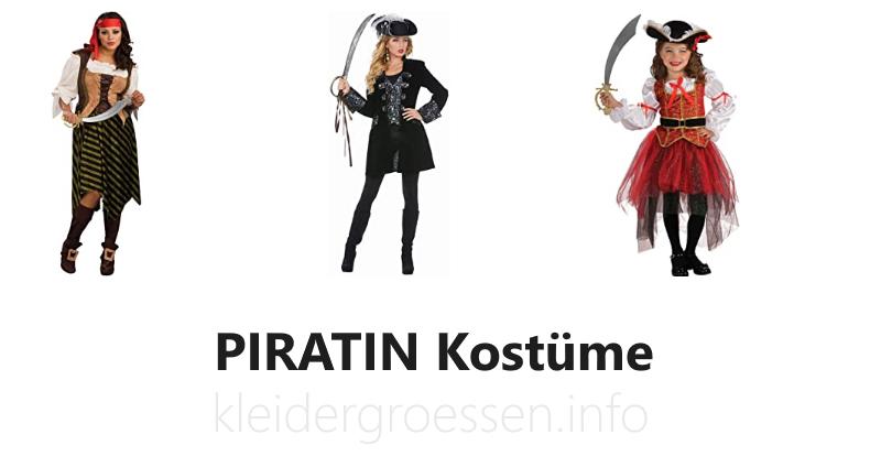 piratin kostüme