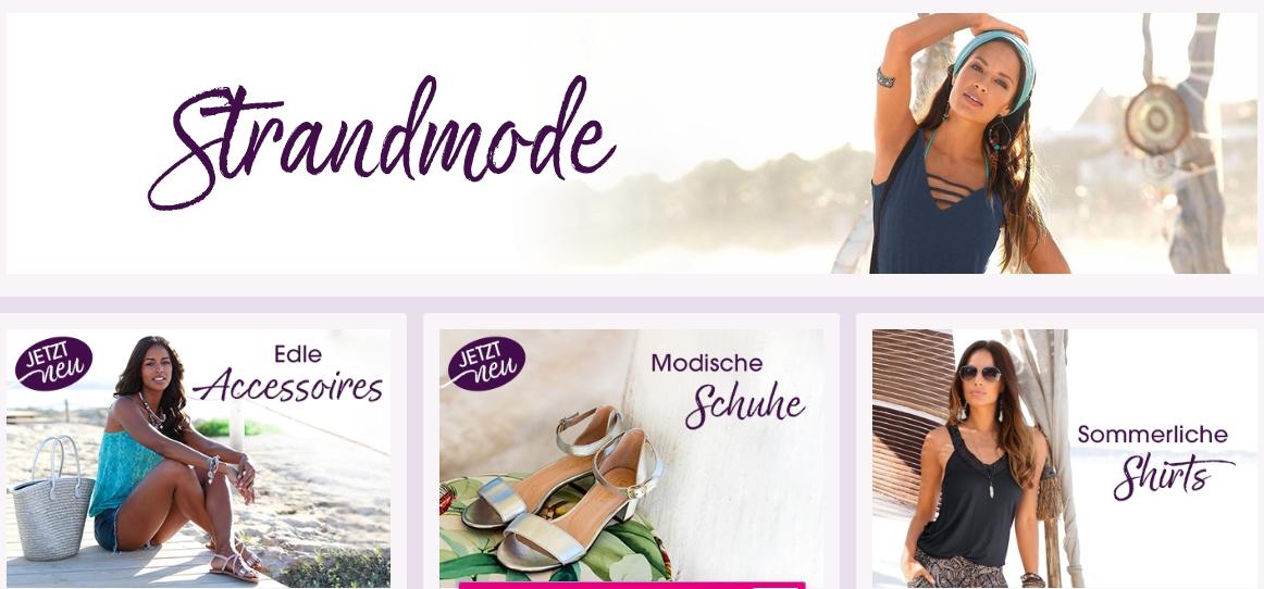 Damen Strandmode Beachwear Outfits LASCANA