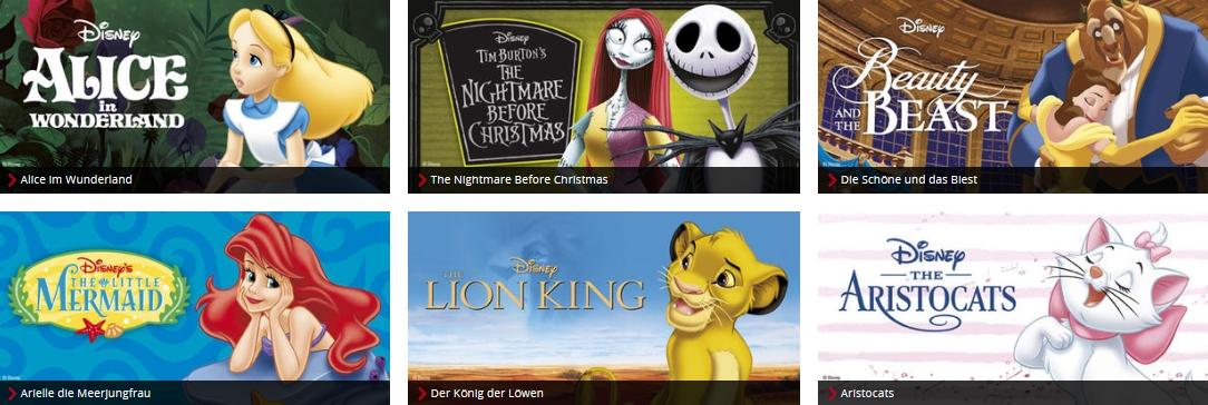 EMP Merchandise Fanartikel Disney