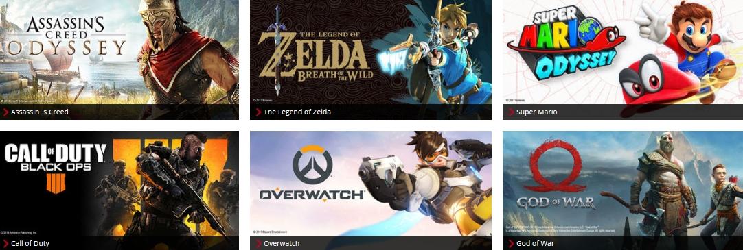 EMP Merchandise Fanartikel Games