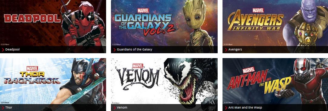 EMP Merchandise Fanartikel Marvel