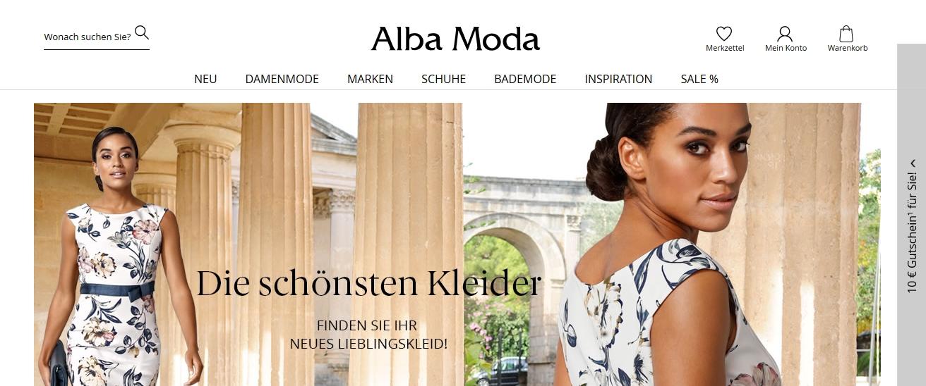 new styles bb30c ef3b2 Alba Moda | Grössen Ratgeber