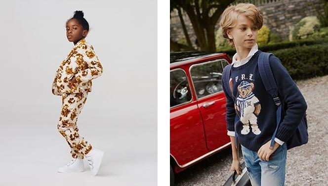 Frühling Sommer und Herbst Winter Kollektion Bekleidung für Kinder auf YOOX
