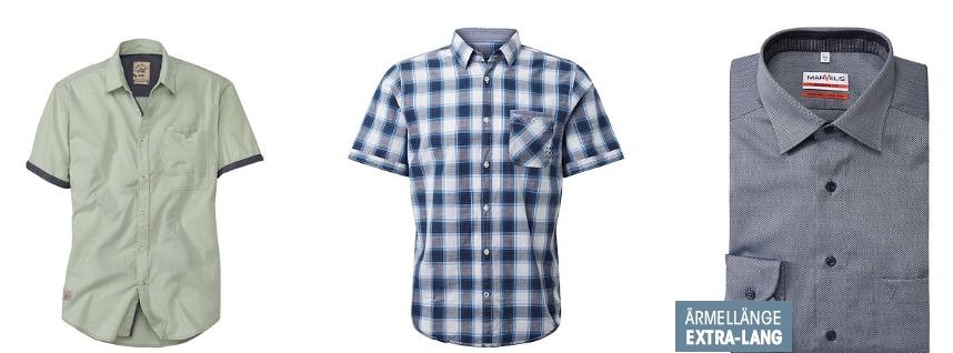 Herren-Hemden für Freizeit und Business ADLER
