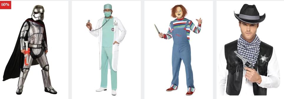 Herren Kostüme für Halloween und Karneval CoolStuff