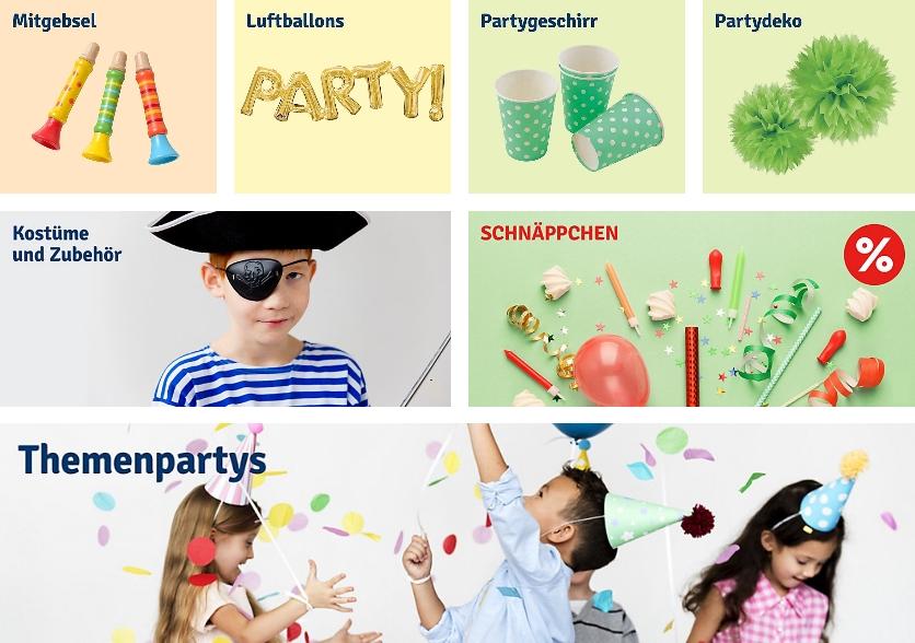 Kinderparty - Geschenkideen Deko - Tipps für Spiele, Rezepte myToys