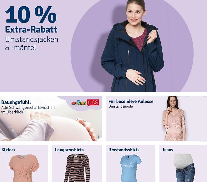 Umstandsmode - Schwangerschaftsmode günstig online kaufen myToys