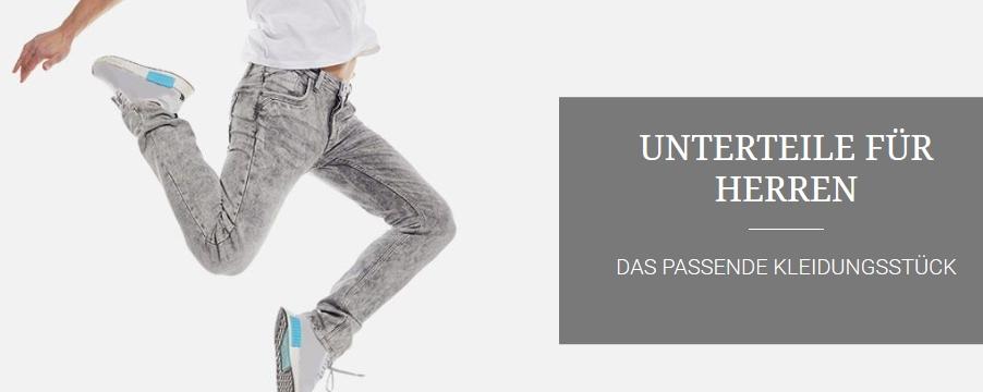Unterteile für Herren online bei Jeans Fritz