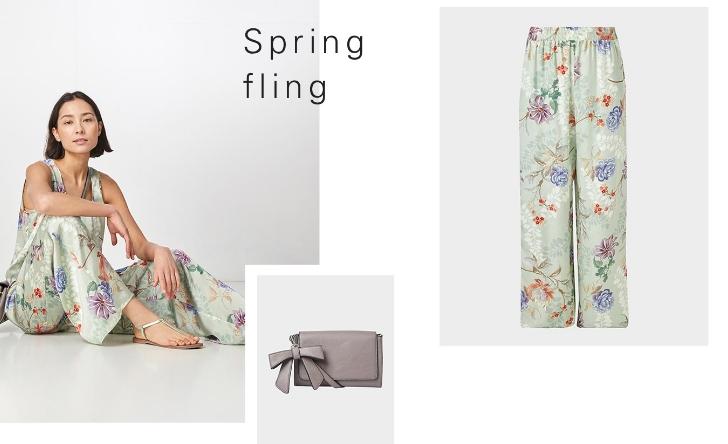 spring fling hallhuber
