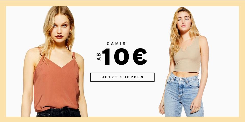 topshop camis