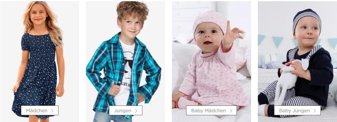 Kindermode Kinderkleidung BAUR