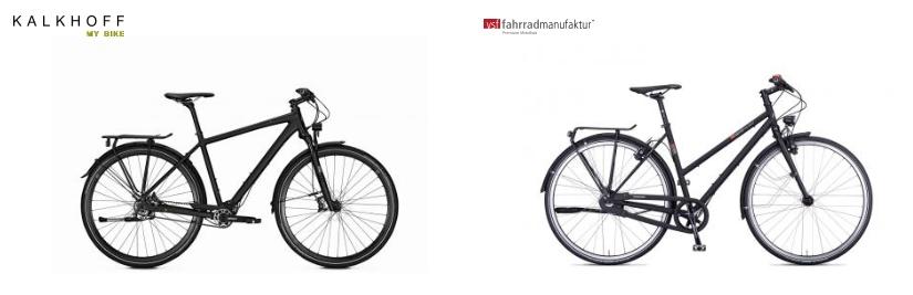 Citybike Markenräder