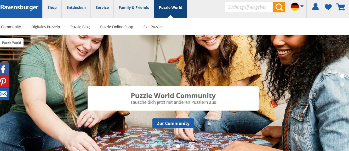 Puzzle World - Alles rund um Ravensburger Puzzles