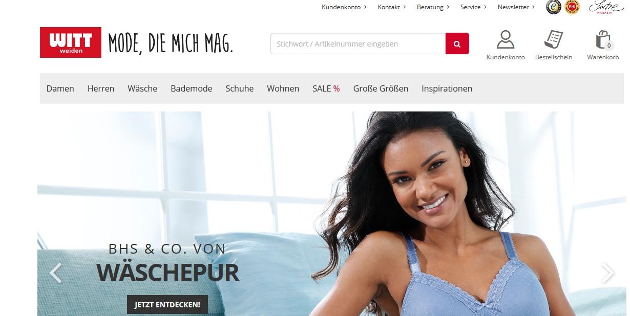 Versandhaus WITT WEIDEN Online Shop