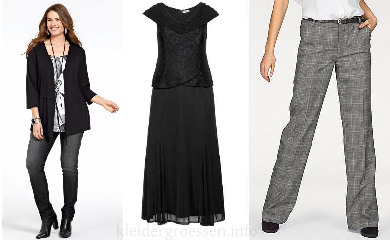 Damen Langgrößen Mode