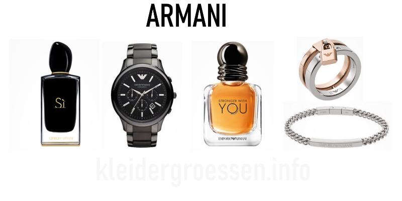 Armani Schmuck & Parfum