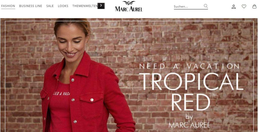 marc aurel fashion