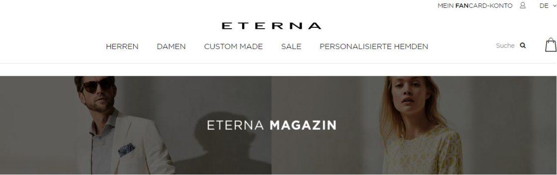 eterna online shop