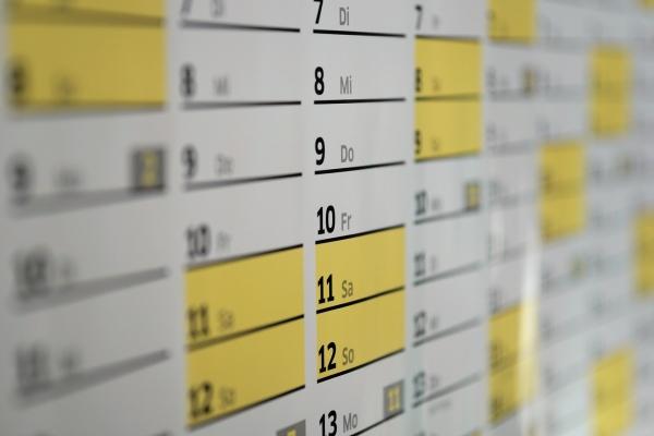 Ferien Kalender