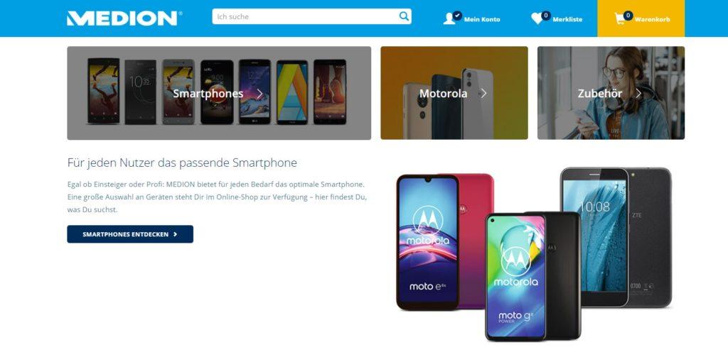 Medion Smartphones