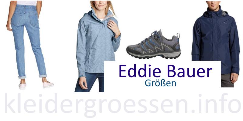 eddie bauer größentabellen