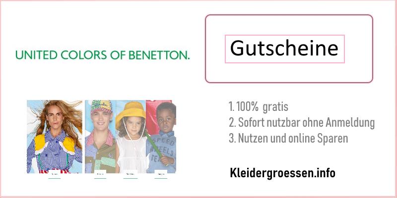 Benetton gutscheine