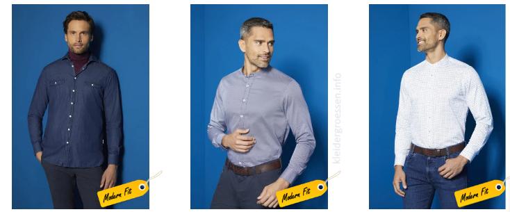 bugatti Herren Hemden