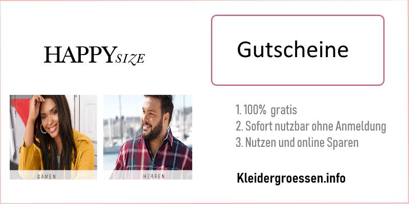 Happy Size Gutscheine