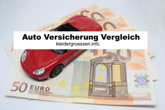 Auto Versicherung Vergleich